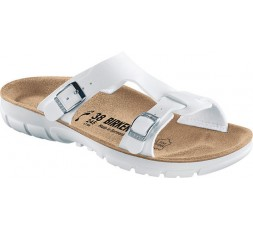 Sofia - weiß - 39 - Soft Fußbett - P 100