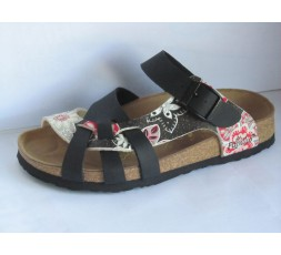 Pisa - Blossom Star Grey/Black - 36